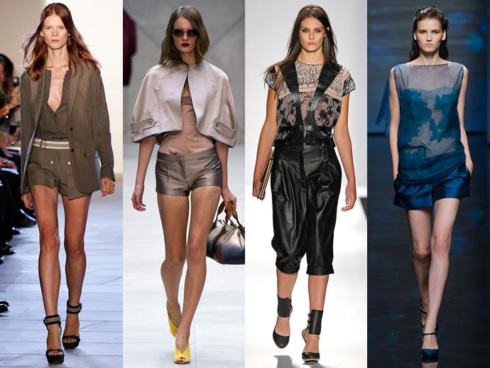 модные шорты 2013